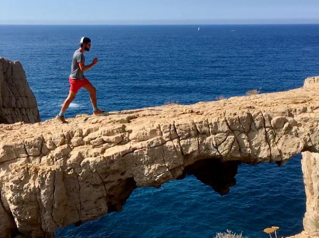 actieve vakantie ibiza, natuurlijke brug Ibiza