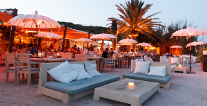 La escollera Ibiza, golden hour